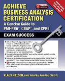 Achieve Business Analysis Certification PDF