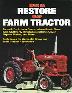 How to Restore Your Farm Tractor Book