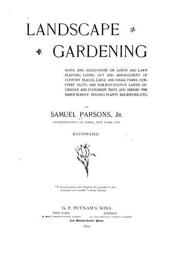 Landscape Gardening PDF