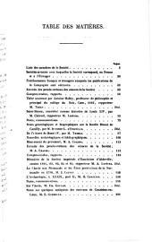 Bulletin de la Société des Antiquaires de Normandie: Volume 4