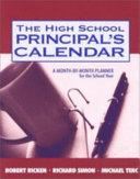 The High School Principal's Calendar