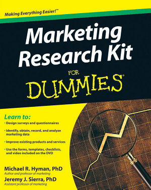 Marketing Research Kit For Dummies PDF