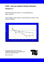 G IQI German inpatient quality indicators PDF