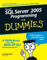 Microsoft SQL Server 2005 Programming For Dummies PDF
