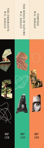 Three Book Sebald Set: The Emigrants, The Rings of Saturn, and Vertigo
