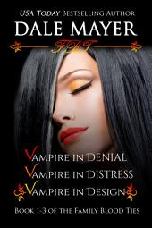 Family Blood Ties Set 1-3 (Paranormal romance, mystery, Family Blood Ties): 1-3