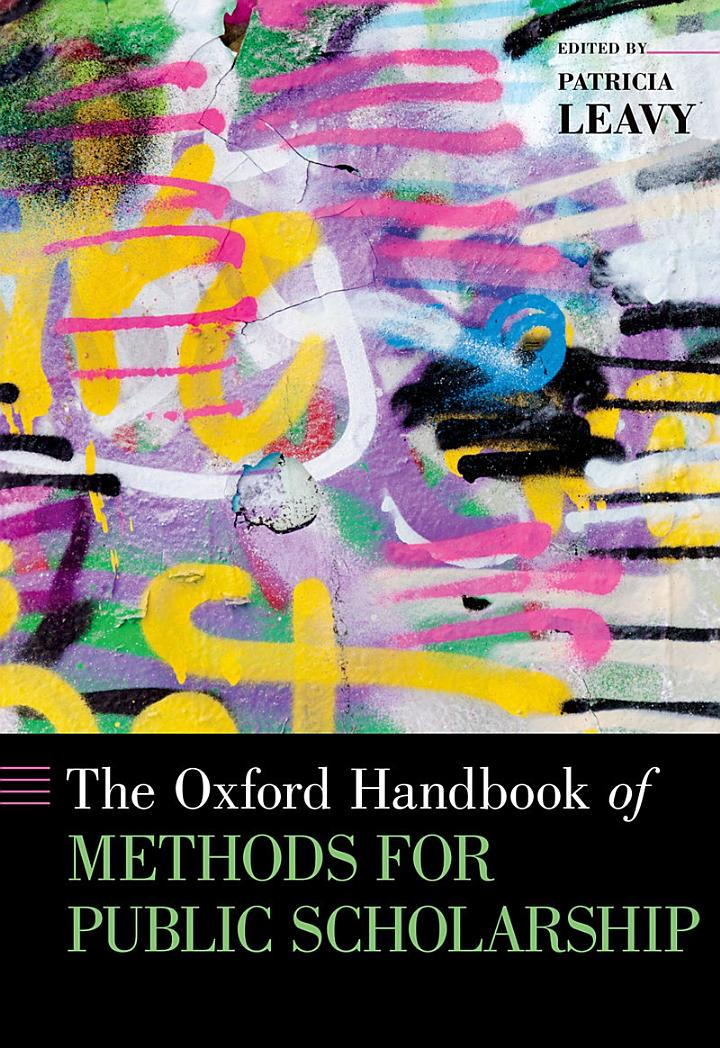 The Oxford Handbook of Methods for Public Scholarship
