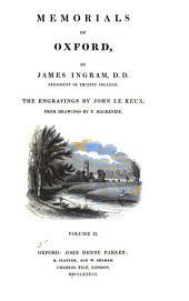 Memorials of Oxford: Volume 3