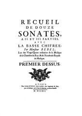 Recueil de douze sonates : 1712: Volume 4