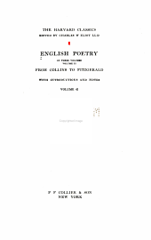 English Poetry: From Collins to Fitzgerald