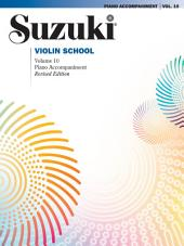 Suzuki Violin School - Volume 10: Piano Accompaniment