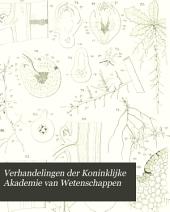 Verhandelingen der Koninklijke Akademie van Wetenschappen: Volume 25