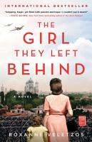 The Girl They Left Behind PDF