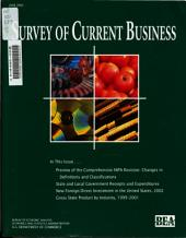Survey of Current Business: Volume 83, Issue 6