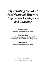 Implementing the SIOP Model Through Effective Professional Development and Coaching PDF