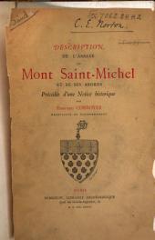 Description de l'abbaye du Mont Saint-Michel et de ses abords précédée d'une notice historique