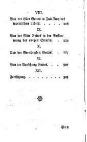 Die Philosophie der Religion: Erster Band, Band 1