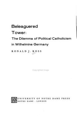 Beleaguered Tower PDF