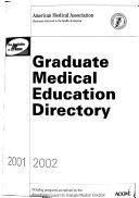 Graduate Medical Education Directory 2001 2002 PDF