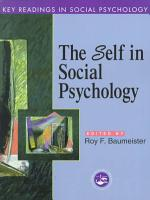 The Self in Social Psychology PDF