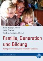 Familie  Generation und Bildung PDF