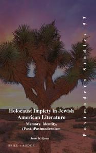 Holocaust Impiety in Jewish American Literature Book