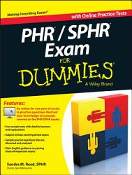 Phr Sphr Exam For Dummies Book PDF