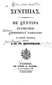 De Syntipa et Cyri filio Andreopuli narratio, e codd: Pariss