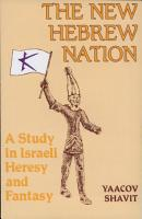 The New Hebrew Nation PDF