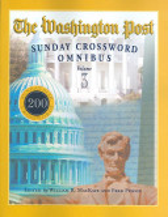 The Washington Post Sunday Crossword Omnibus  Volume 3 PDF