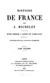 Histoire de France: Louis XV (1724-1757)