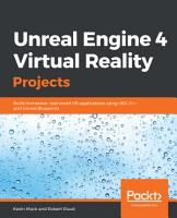 Unreal Engine 4 Virtual Reality Projects PDF