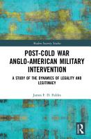 Post Cold War Anglo American Military Intervention PDF
