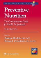 Preventive Nutrition PDF