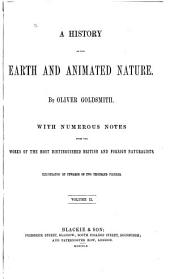 A History of the Earth and Animated Nature: Volume 2
