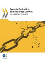 Poverty Reduction and Pro Poor Growth The Role of Empowerment PDF