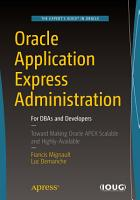 Oracle Application Express Administration PDF