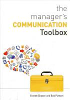 The Manager s Communication Toolbox PDF