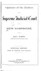 Opinions of the Justices of the Supreme Judicial Court of New Hampshire  in Hale V  Everett   the Unitarian Church Case   PDF