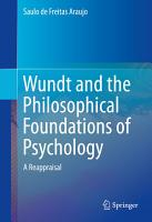 Wundt and the Philosophical Foundations of Psychology PDF