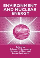 Environment and Nuclear Energy PDF