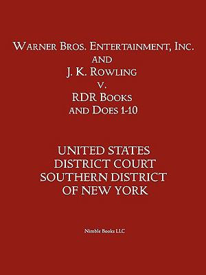 Warner Bros  Entertainment  Inc    J  K  Rowling V  Rdr Books and 10 Does