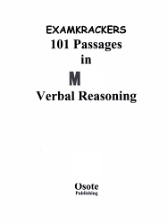 Examkrackers 101 Passages in MCAT Verbal Reasoning PDF