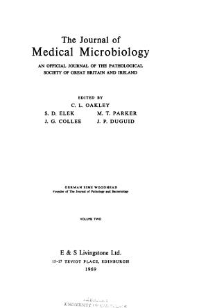 Journal of medical microbiology PDF