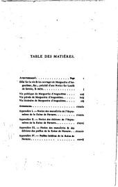 Essai sur la vie et les ouvrages de Marguerite d'Angoulême: Précédé d'une notice sur Louis de Savoie