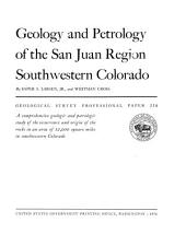 Geological Survey professional paper: Issue 258