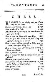 Mr. Hoyle's Games of Whist, Quadrille, Piquet, Chess and Back-gammon, Complete ...