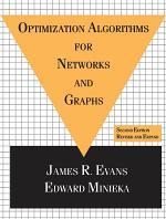 Optimization Algorithms for Networks and Graphs