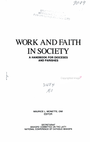 Work and Faith in Society PDF