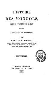 Histoire des Mongols: Volume3